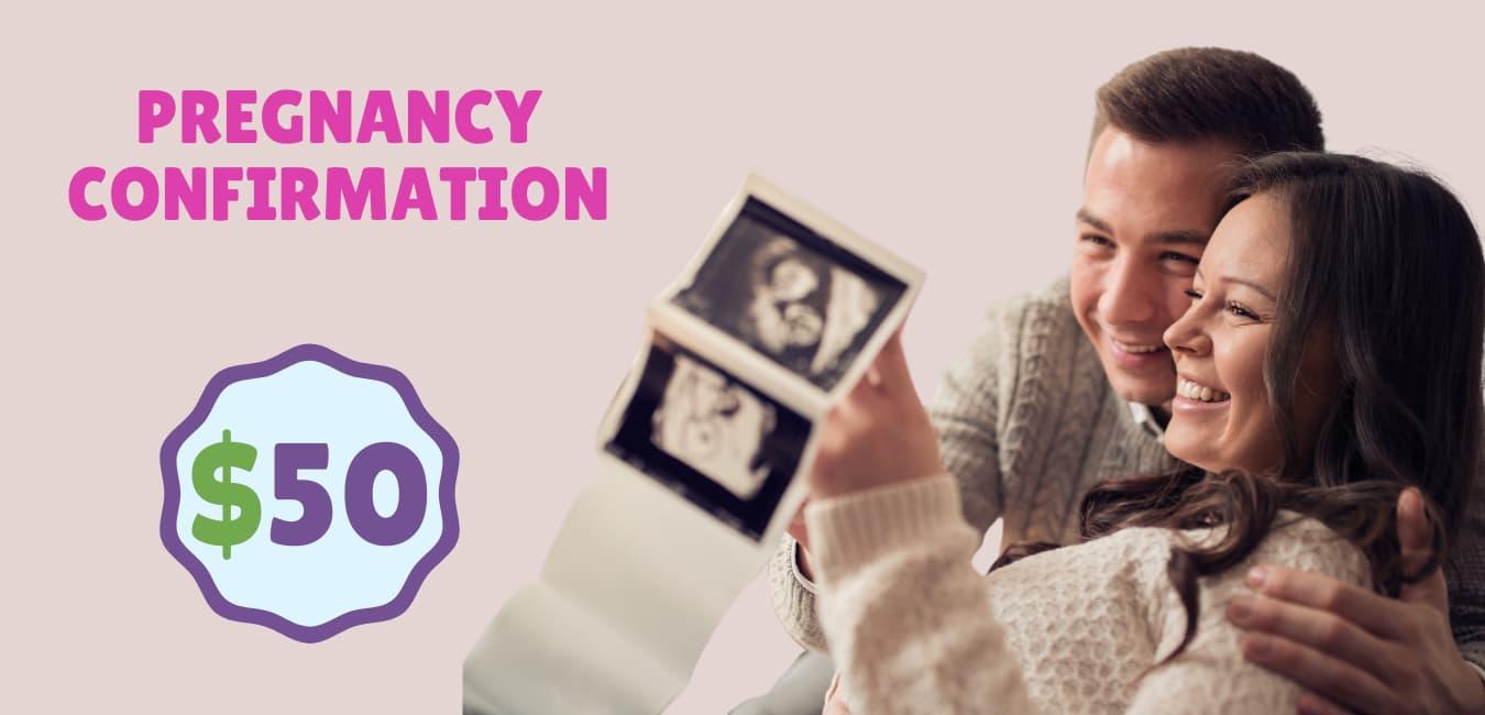 confirmación de embarazo